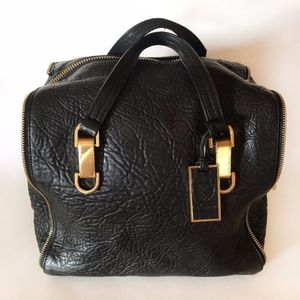 Vince Camuto Riley Lamb Satchel with strap